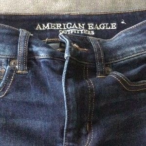 American Eagle Next Level Stretch Jean skirt